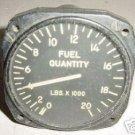WWII Warbird Aircraft Fuel Quantity Indicator, J67021A22