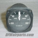 Aircraft 2 in 1 Vaccum / Pressure Indicator