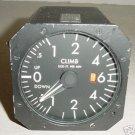 Aircraft Vertical Speed Indicator, 550-18013B-012