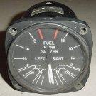 Dual Fuel Flow Fuel Pressure Indicator, PF44-1A, 6060-42