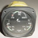 18-1000-8, R.C. Allen 3 in 1 Aircraft Engine Indicator w Srv tag