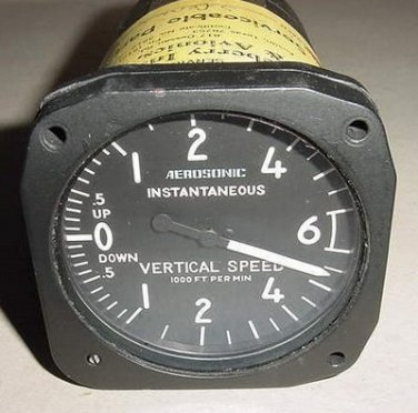 30260-3126, Aircraft Instantaneous Vertical Speed Indicator