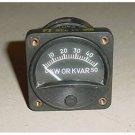 Convair B-36 Peacemaker Watt Varmeter Indicator, 8AW59HAH1