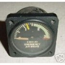 Convair 340 Air Brake Pressure Indicator, AW1826AD01