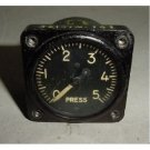 Vintage Convair Hydraulic Pressure Indicator, AW1 7/8-17-GZ6