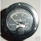 WWII Boeing B-29 Superfortress Volts Indicator, AW-41, VBT-12