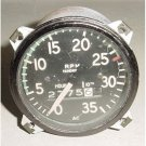 Vintage Aircraft Cessna 170 Recording Mechanical Tachometer