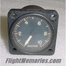 WWII P-51 Mustang Suction Gauge Indicator, AN5771-5, Type F-4
