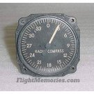 WWII P-38 Lightning Radio Magnetic Compass Indicator, 97536-01