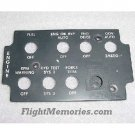 209-175-977-103, AH-1 Cobra Engine Panel EL Lightplate
