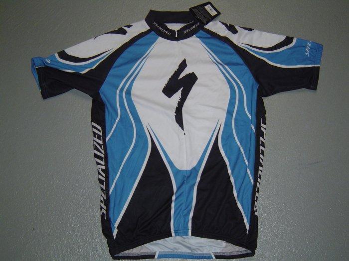 NEW SPECIALIZED CYCLING CYCLE BIKE JERSEY SZ L