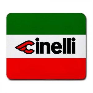 CINELLI ITALIAN FLAG MOUSE PAD (FREE SHIPPING WORLDWIDE!!)