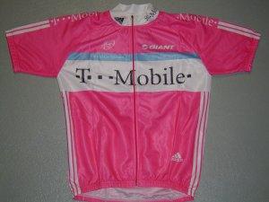 T-MOBILE CYCLING BIKE JERSEY ADIDAS XL