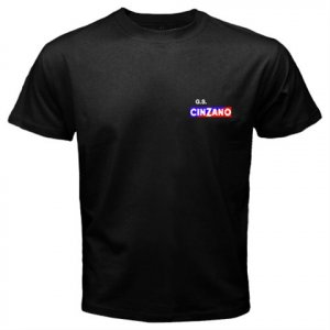 CINZANO PROFESSIONAL CYCLING TEAM BLACK T-SHIRT SZ XL (FREE SHIPPING WORLDWIDE!!)