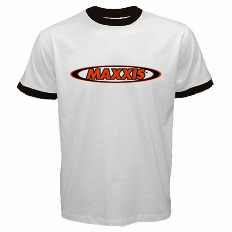 MAXXIS CYCLING CYCLE BIKE TIRES RINGER T-SHIRT SZ L (FREE SHIPPING WORLDWIDE!!)