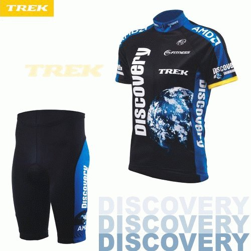 DISCOVERY CHANNEL 2007 CYCLING JERSEY AND SHORTS KIT SZ XL