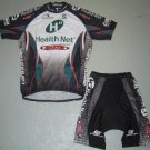 HEALTHNET MAXXIS CYCLING JERSEY AND SHORTS KIT SZ L
