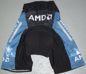 DISCOVERY CHANNEL CYCLING CYCLE BIKE SHORTS SZ L