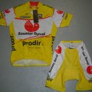 SAUNIER DUVAL CYCLING CYCLE JERSEY AND SHORTS KIT SZ L
