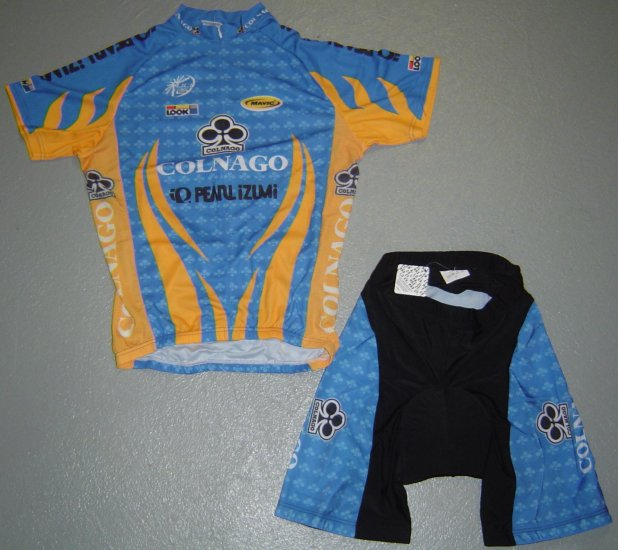 COLNAGO CYCLING CYCLE BIKE JERSEY AND SHORTS SZ M