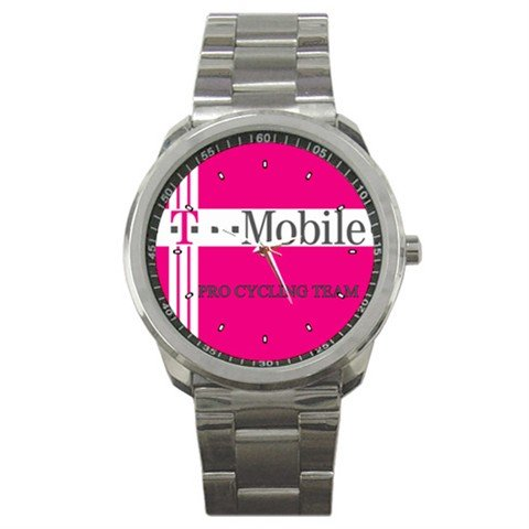 T-MOBILE TEAM BIKE CYCLE CYCLING  WRIST WATCH NEW (FREE SHIPPING WORLDWIDE!!)