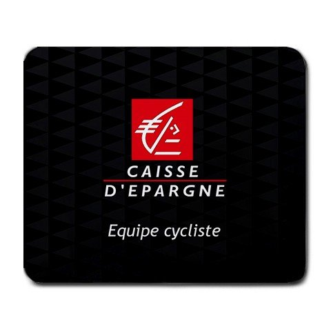 CAISSE D'EPARGNE TEAM CYCLING MOUSE PAD NEW (FREE SHIPPING WORLDWIDE!!)
