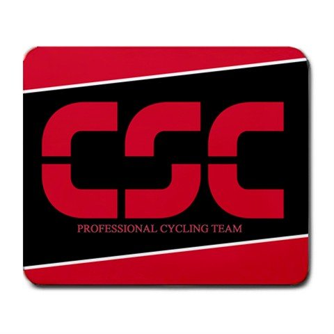 CSC PROFESSIONAL CYCLING TEAM MOUSE PAD NEW bk (FREE SHIPPING WORLDWIDE!!)