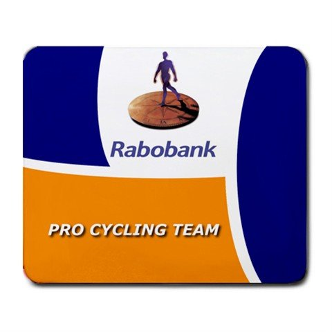 RABOBANK PRO CYCLING TEAM MOUSE PAD NEW (FREE SHIPPING WORLDWIDE!!)