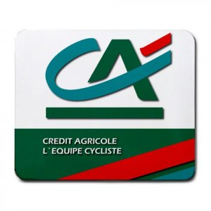 CREDIT AGRICOLE TEAM CYCLING MOUSE PAD NEW