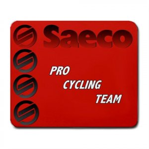 SAECO PRO CYCLING TEAM MOUSE PAD NEW (FREE SHIPPING WORLDWIDE!!)
