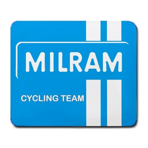 MILRAM PRO CYCLING TEAM MOUSE PAD NEW (FREE SHIPPING WORLDWIDE!!)