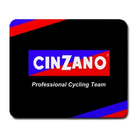 CINZANO PROFESSIONAL CYCLING TEAM MOUSE PAD NEW (FREE SHIPPING WORLDWIDE!!)