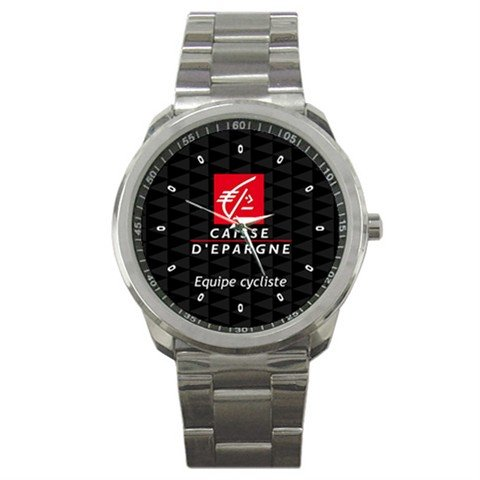 CAISSE D`EPARGNE TEAM CYCLE CYCLING  WRIST WATCH NEW (FREE SHIPPING WORLDWIDE!!)