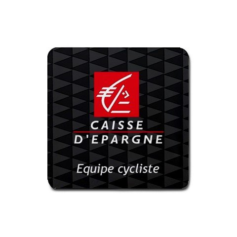 CAISSE D`EPARGNE CYCLING DRINK COASTERS (SET OF 4!) NEW (FREE SHIPPING WORLDWIDE!!)