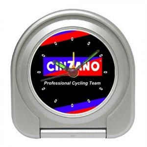TEAM CINZANO CYCLING CYCLE BIKE ALARM CLOCK NEW (FREE SHIPPING WORLDWIDE!!)