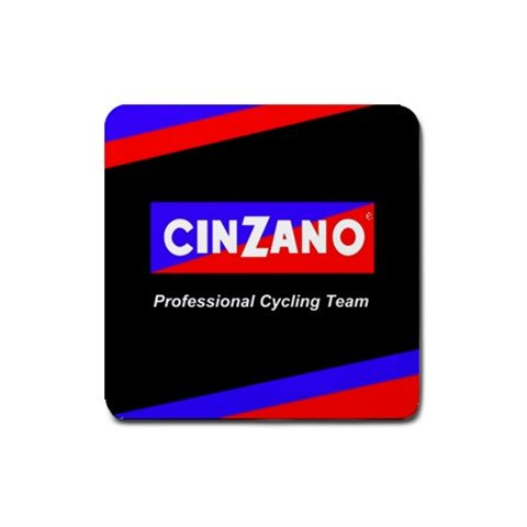 CINZANO PROFESSIONAL CYCLING TEAM DRINK COASTERS (SET OF 4!!) NEW (FREE SHIPPING WORLDWIDE!!)