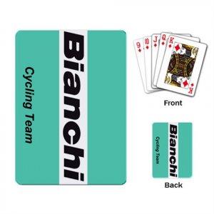 BIANCHI CYCLING CYCLE BIKE DECK PLAYING CARDS NEW (FREE SHIPPING WORLDWIDE!!)