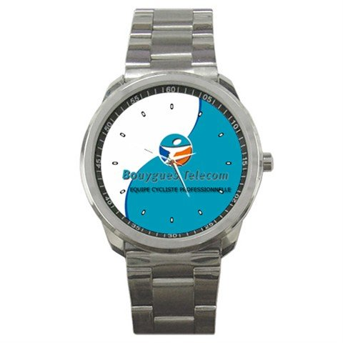 BOUYGUES TELECOM TEAM BIKE CYCLE CYCLING  WRIST WATCH NEW (FREE SHIPPING WORLDWIDE!!)
