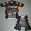CANNONDALE VREDSTEIN CYCLE JERSEY AND SHORTS KIT SZ XXL