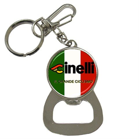 CINELLI BOTTLE OPENER KEY CHAIN CYCLING NEW (FREE SHIPPING WORLDWIDE!!)