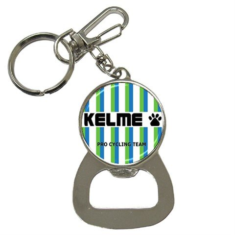 KELME PRO CYCLING TEAM BOTTLE OPENER KEY CHAIN CYCLING NEW (FREE SHIPPING WORLDWIDE!!)