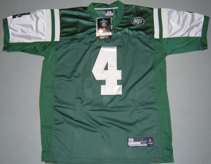 NY NEW YORK JETS BRETT FAVRE GREEN  Jersey SZ 50(L) NEW (Free Shipping!!)