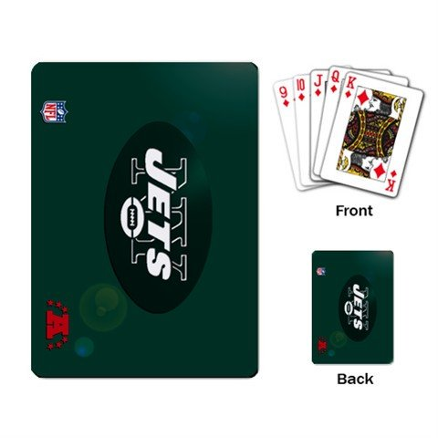 NEW YORK JETS DECK PLAYING CARDS NEW (FREE SHIPPING WORLDWIDE!!)