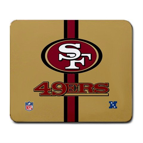 SAN FRANCISCO 49ERS MOUSE PAD MOUSEPAD(FREE SHIPPING WORLDWIDE!!)