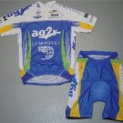 AG2R TEAM CYCLING CYCLE BIKE JERSEY AND SHORTS SZ L