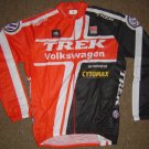 VOLKSWAGEN/TREK LONG SLEEVE CYCLING JERSEY & TIGHTS KIT SZ L