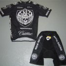 ROCK RACING CYCLING CYCLE BIKE JERSEY AND SHORTS SZ L