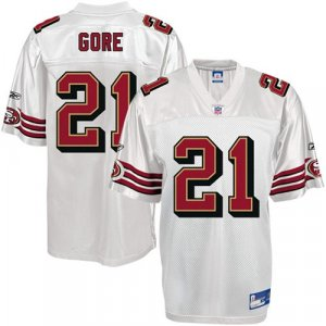 SAN FRANCISCO SF 49ERS FRANK GORE Jersey SZ 48(M) NEW (Free Shipping!!)