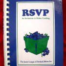 RSVP JUNIOR LEAGUE OF PORTLAND MAINE COOKBOOK