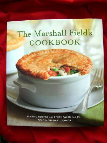 SOLD! SEALED COPY! MARSHALL FIELD'S Department Store COOKBOOK 2006 HC NEW!